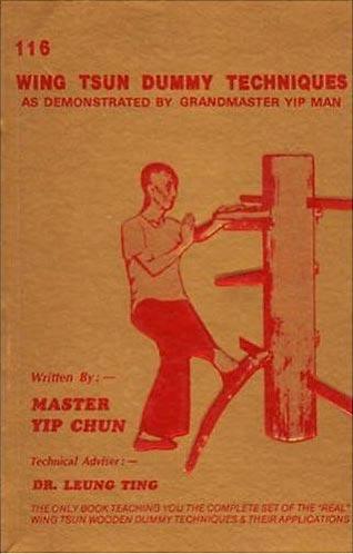 IP Man Wing Chun Dummy Book